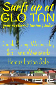 Tanning Salon Flyer