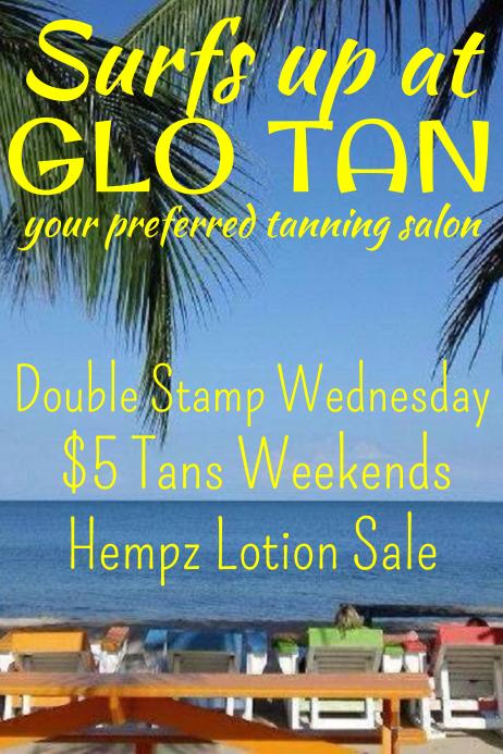Tanning Salon Flyer
