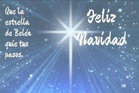 tarjeta de Feliz Navidad con video Iphosta template