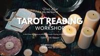 tarot reading services spiritual coaching ad Pantalla Digital (16:9) template