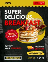 Tasty Breakfast Flyer Design