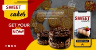 Tasty Food Banner Facebook Shared Image template