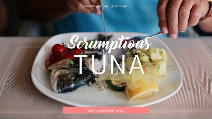 Tasty Tuna Video Template