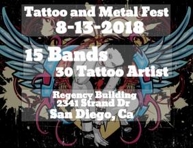 Tattoo Concert Template