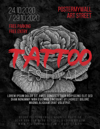 Tattoo Festival Event Flyer Template