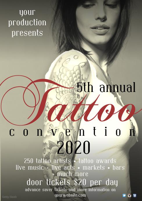 Tattoo Festival Poster