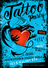 TATTOO PARTY POSTER