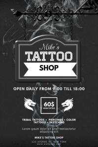 Tattoo Shop Flyer Template