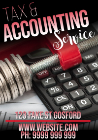 Tax & Accounting A5 template