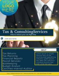 TAX & CONSULTING SERVICES Iflaya (Incwadi ye-US) template