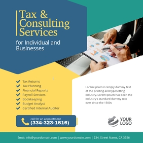 Tax & Consulting Services instagram