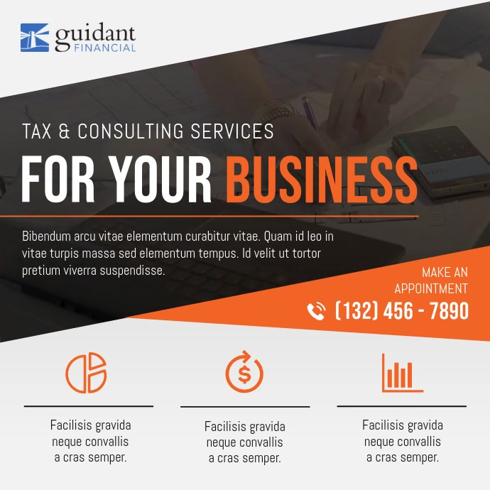 Tax and Conulting Business Ad Instagram Video