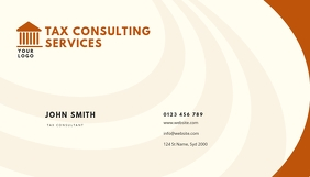 tax consulting service BUSINESS CARD