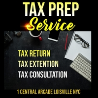 tax Instagram Post template