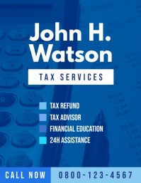 Tax Office Personal Business Flyer