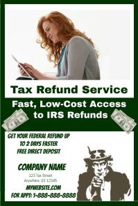 Tax Refund Service Template