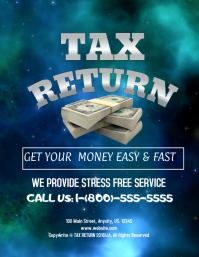 tax flyer templates free
