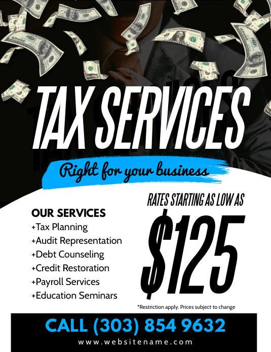 Tax Services Flyer