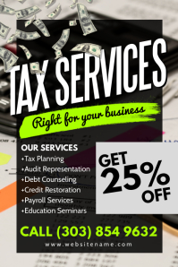 Tax Services Poster