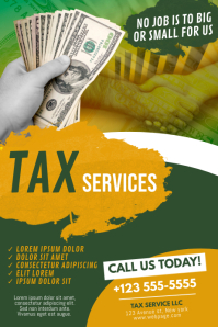 Tax Servide Advertising Template
