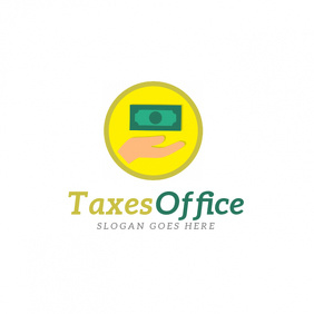 Taxes Office Logo template