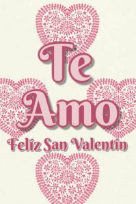 te Amo Feliz San Valentin