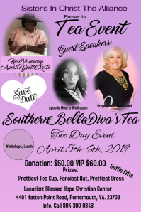 Tea Event Flyer