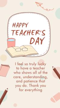 Teacher's day,happy teacher's day Instagram Story template