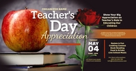 Teacher's Day Facebook Shared Image delt Facebook-billede template
