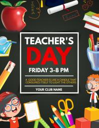 Teacher's day flyers