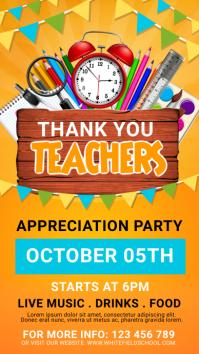 Teacher's day instagram post template