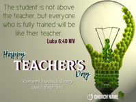 Teacher's Day Scripture Presentation template