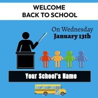 Back to school 2021 Instagram Plasing template