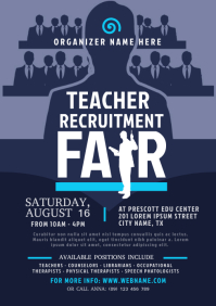 Teacher Recruitment Fair Flyer