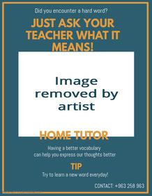 Teacher Service Poster