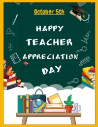 teacherappreciation Volante (Carta US) template