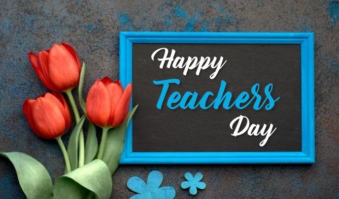 Teachers Day Etiqueta template