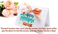 Teachers Day 标记 template
