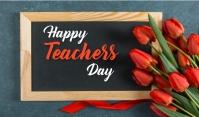 Teachers Day แท็ก template