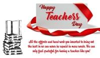 Teachers Day Mærke template