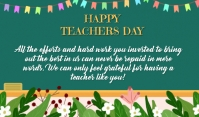 Teachers Day Merker template