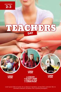Teachers Day Flyer Design Template