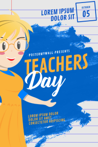 Teachers event Flyer Template