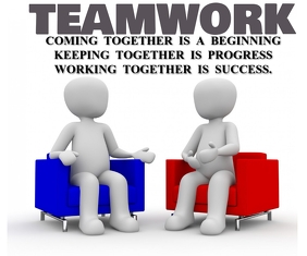 TEAMWORK QUOTE TEMPLATE Stort rektangel