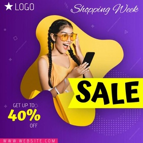 TECH FASHION SALE AD TEMPLATE