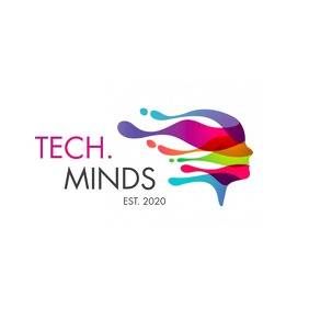 tech mind logo template