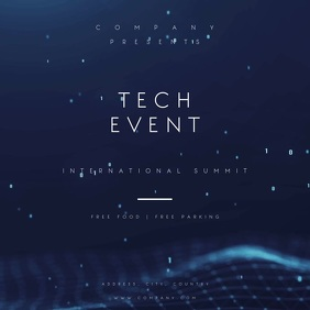 Tech Party Motion Poster