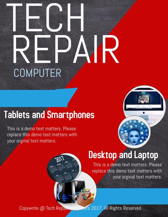 Tech Repair Template | PosterMyWall