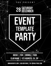 TECH TECHNICAL Club Party Flyer Template