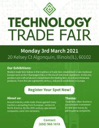 Tech Trade Show Flyer